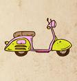 Scooter Cartoon vector image