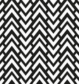 monochrome zigzag seamless pattern vector image