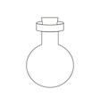 Bottle path vector image