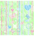 Perfect child wallpaper texture vector image