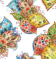 colorful seamless texture watercolor vector image vector image