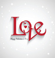 valentines day love background 1301 vector image