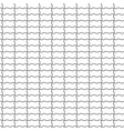 shaped bricks seamless pattern vector image