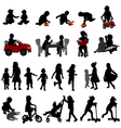 kids and toddlers vector image