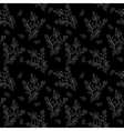 Seamless background branches silhouettes vector image vector image