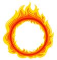 A fireball vector image