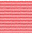 Seamless knitted pattern Woolen cloth Knit vector image