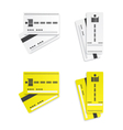 Parking tickets vector image vector image