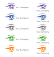 ophthalmologist logo vector image