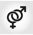 sex symbol icon set vector image