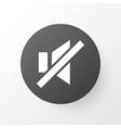 sound off icon symbol premium quality isolated vector image