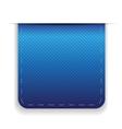 Empty ribbon blue vector image