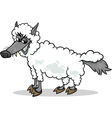 saying wolf in sheeps clothing m vector image