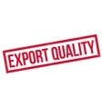 Export Quality rubber stamp vector image