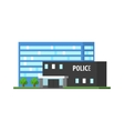 City Police Station vector image