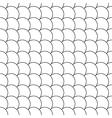 simple seamless pattern diagonal fish scales vector image