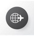 world travel icon symbol premium quality isolated vector image