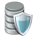 Database Protection Icon vector image