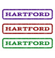 hartford watermark stamp vector image