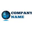 Idea design logo company Technology business vector image