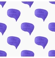 Seamless pattern with speech bubbles Hand-drawn vector image