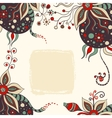 abstract handdrawn background vector image vector image