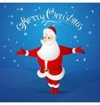 Santa Claus greeting vector image