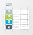 banner template Green blue gray color vector image