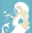 Pisces vector image vector image