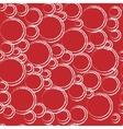 Circle geometric seamless pattern vector image