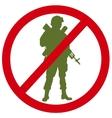 No war vector image