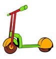 kick scooter icon icon cartoon vector image