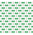 Palm trees seamless pattern background vector image