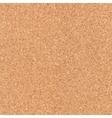 Seamless cork board texture vector image