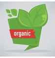 organic bubble vector image vector image