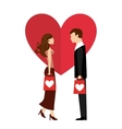 love concept vector image