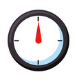 measure gauge isolated icon vector image