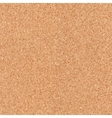 Seamless cork board texture vector image