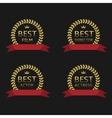 Best film award vector image