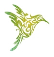 Hummingbird abstraction vector image
