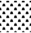 Retro purse pattern simple style vector image