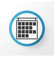 timetable icon symbol premium quality isolated vector image