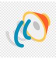 speaker isometric icon vector image