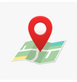 pin location map marker direction vector image