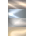 Brushed metal background vector image