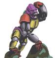 robogarilla vector image