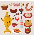 Russian national food vector image