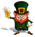 St Patrick Cheers vector image