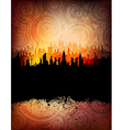 Urban banner vector image