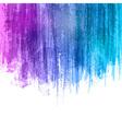 Blue Violet Paint Splashes Gradient Background vector image vector image